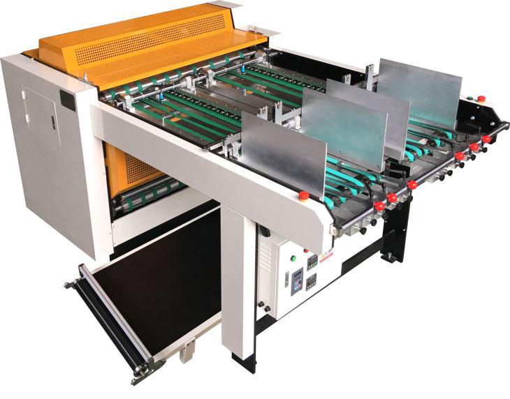 เครื่องเซาะร่องกระดาษจั่วปัง สำหรับผลิตกล่องกระดาษแข็ง (กล่องจั่วปัง)